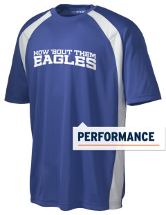 Century Christian School Eagles Men's Dry Zone Colorblock T-Shirt