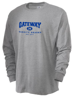 Gateway Elementary School Sharks  Russell Men's Long Sleeve T-Shirt