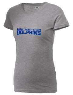 Spring Hill Advanced Elementary School Dolphins  Russell Women's Campus T-Shirt