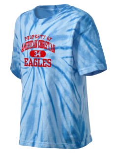 American Christian School Eagles Kid's Tie-Dye T-Shirt