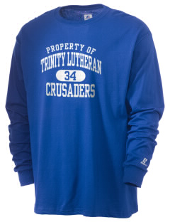 Trinity Lutheran School Crusaders  Russell Men's Long Sleeve T-Shirt