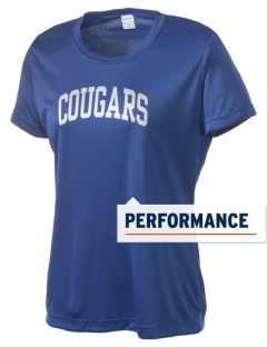 University Hills Lutheran School Cougars Women's Competitor Performance T-Shirt