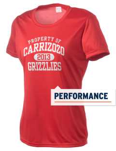 Carrizozo High School Grizzlies Women's Competitor Performance T-Shirt