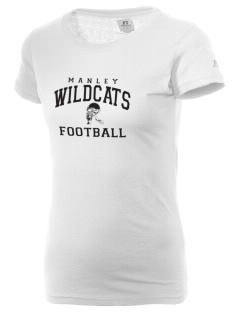 Manley High Wildcats  Russell Women's Campus T-Shirt