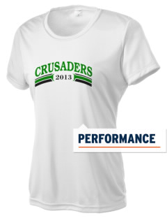 Clemons Lutheran School Crusaders Women's Competitor Performance T-Shirt