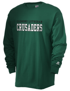 Clemons Lutheran School Crusaders  Russell Men's Long Sleeve T-Shirt