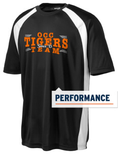 Orange City Christian School Tigers Men's Dry Zone Colorblock T-Shirt