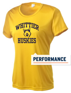 Whittier Elementary School Huskies Women's Competitor Performance T-Shirt