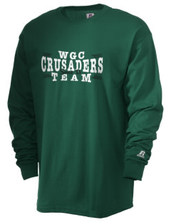 Watson Groen Christian School Crusaders  Russell Men's Long Sleeve T-Shirt