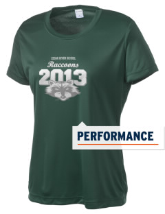 Cedar River School Raccoons Women's Competitor Performance T-Shirt