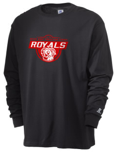 Queen Anne Christian School Royals  Russell Men's Long Sleeve T-Shirt