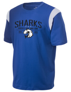 Augustus H Shaw Junior School Sharks Holloway Men's Rush T-Shirt