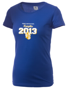 Monroe Christian School Knights  Russell Women's Campus T-Shirt