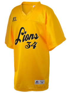 Arlington Christian School Lions Russell Kid's Replica Football Jersey
