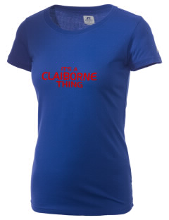 Claiborne Academy Rebels  Russell Women's Campus T-Shirt
