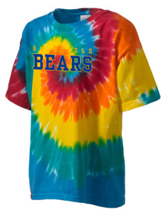 Goldfield School Bears Kid's Tie-Dye T-Shirt