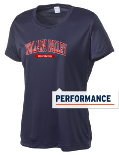 Willapa Valley High School Vikings Women's Competitor Performance T-Shirt