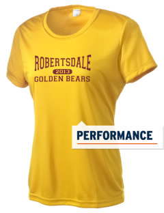 Robertsdale High School Golden Bears Women's Competitor Performance T-Shirt