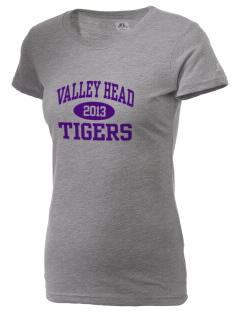 Valley Head School Tigers  Russell Women's Campus T-Shirt