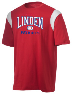 Linden High School Patriots Holloway Men's Rush T-Shirt