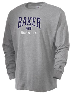 Baker High School Hornets  Russell Men's Long Sleeve T-Shirt