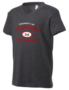 Julian Harris Elementary School Challengers Kid's V-Neck Jersey T-Shirt