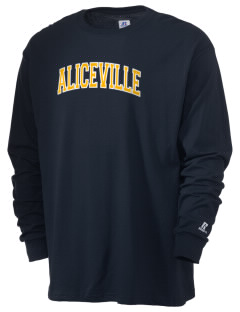 Aliceville High School Yellow Jackets  Russell Men's Long Sleeve T-Shirt