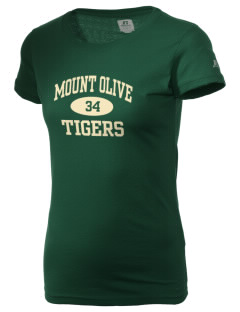 Mount Olive Elementary School Tigers  Russell Women's Campus T-Shirt