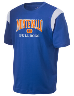 Montevallo High School Bulldogs Holloway Men's Rush T-Shirt