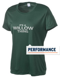 Willow Elementary School Wolverines Women's Competitor Performance T-Shirt