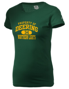 Deering School Northern Lights  Russell Women's Campus T-Shirt