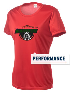 Howard D. Woodson Sr. High Warrior Women's Competitor Performance T-Shirt