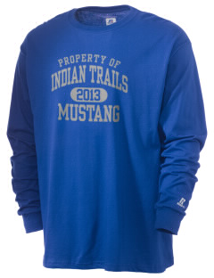 Indian Trails Middle School Mustang  Russell Men's Long Sleeve T-Shirt