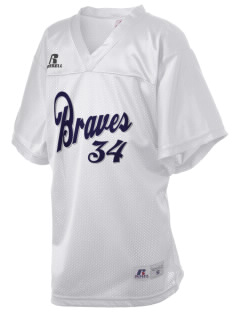 Baldwin Academy Braves Russell Kid's Replica Football Jersey