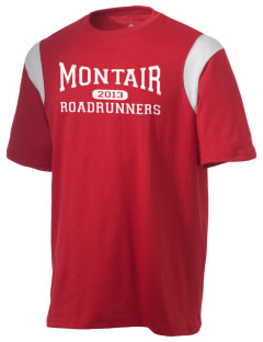 Montair Elementary School Roadrunners Holloway Men's Rush T-Shirt