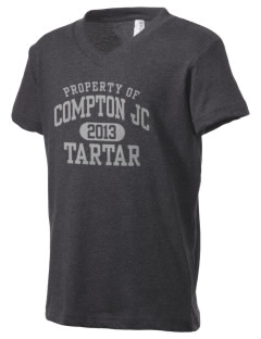 compton jc tartar Kid's V-Neck Jersey T-Shirt