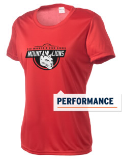 Red Mountain High School Mountain Lions Women's Competitor Performance T-Shirt
