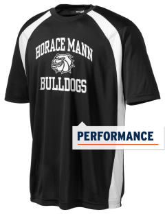 Horace Mann Elementary School Bulldogs Men's Dry Zone Colorblock T-Shirt