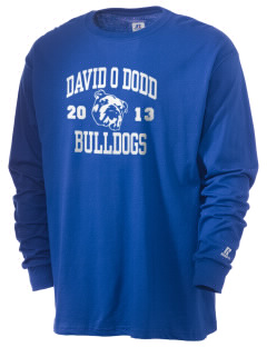 David O Dodd Elementary School Bulldogs  Russell Men's Long Sleeve T-Shirt