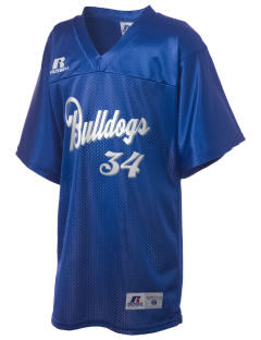 David O Dodd Elementary School Bulldogs Russell Kid's Replica Football Jersey