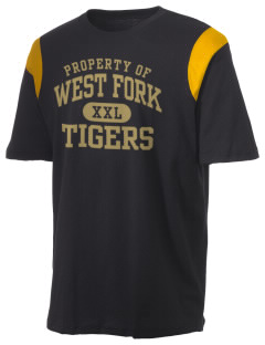 West Fork High School Tigers Holloway Men's Rush T-Shirt