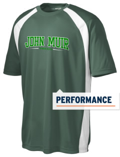 John Muir Elementary School Trees Men's Dry Zone Colorblock T-Shirt