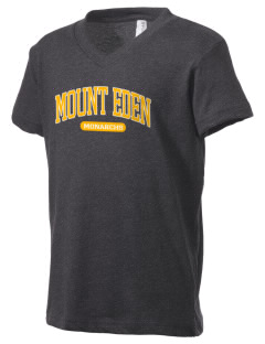 Mount Eden High School Monarchs Kid's V-Neck Jersey T-Shirt