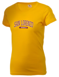 San Lorenzo High School Rebels  Russell Women's Campus T-Shirt