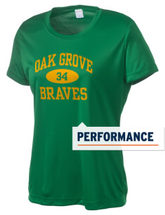 Oak Grove Middle School Braves Women's Competitor Performance T-Shirt