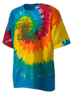 Indian Diggings Elementary School Eagles Kid's Tie-Dye T-Shirt