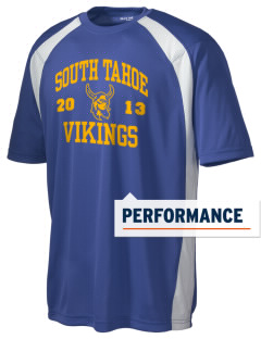 South Tahoe High School Vikings Men's Dry Zone Colorblock T-Shirt