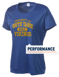 South Tahoe High School Vikings Women's Competitor Performance T-Shirt