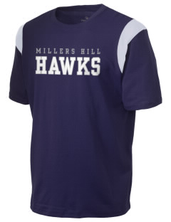 Millers Hill Middle School Hawks Holloway Men's Rush T-Shirt