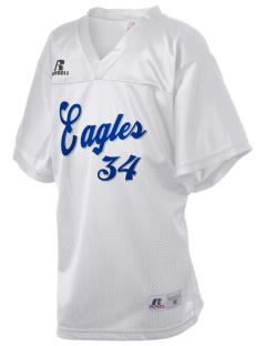 Caruthers Union Elementary School Eagles Russell Kid's Replica Football Jersey
